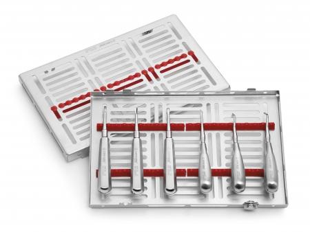660030 - SET ROOT ELEVATORS   6 pcs